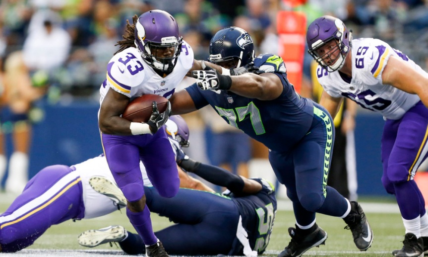 NFL: Minnesota Vikings at Seattle Seahawks