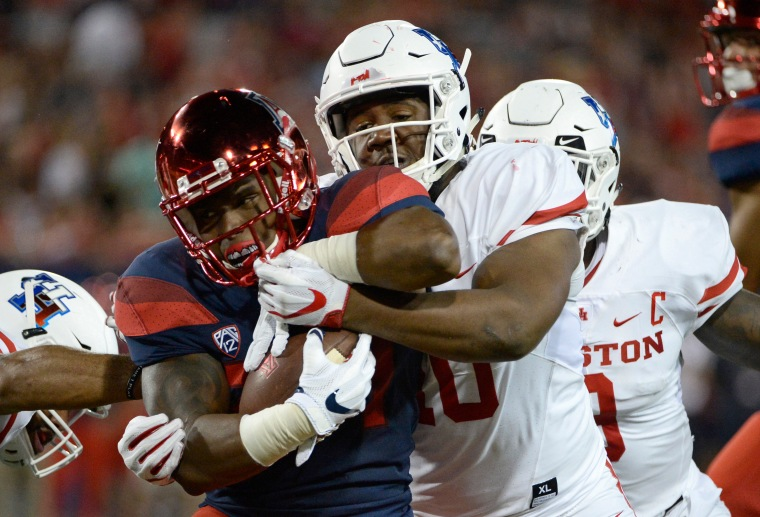 NCAA Football: Houston at Arizona