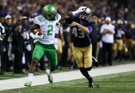 NCAA Pac 12  Football - Oregon vs. Washington