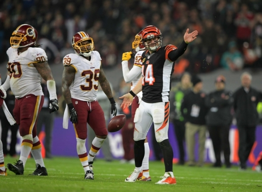 NFL: International Series-Washington Redskins at Cincinnati Bengals