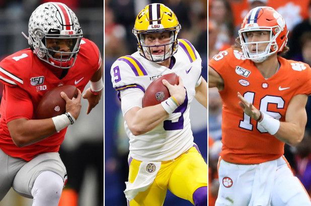 justin-fields-joe-burrow-trevor-lawrence